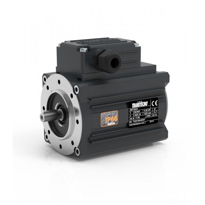 MOTOR TRANSTECNO SMT7144 B14 1500 RPM 230/400V 0,75KW IP66