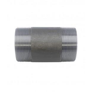 """NIPPLE HIERRO NEGRO M/M D-2982 (L.100MM) 1"""""""