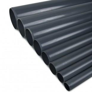 TUBO PVC PRESION PN-10 75MM ENCOLAR GRIS