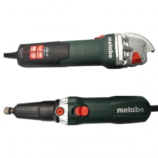 COMBO METABO AMOLADORA WE 15-125 QUICK + AMOLADORA RECTA GE 710 PLUS