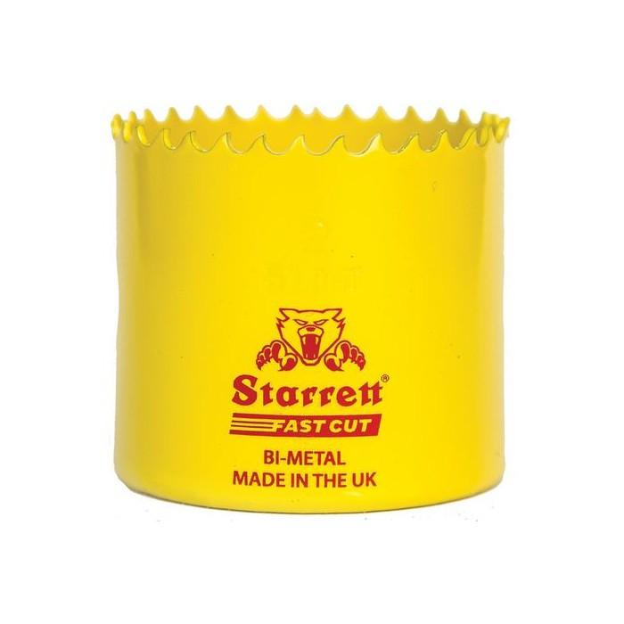CORONA PERF BIMETAL FAST-CUT STARRETT 52