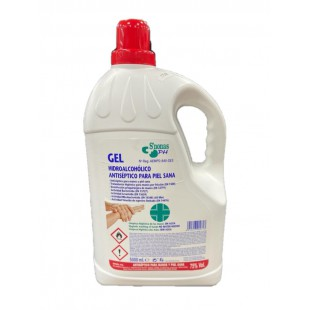 GEL DESINFECTANTE HIDROALCOHOLICO 5L