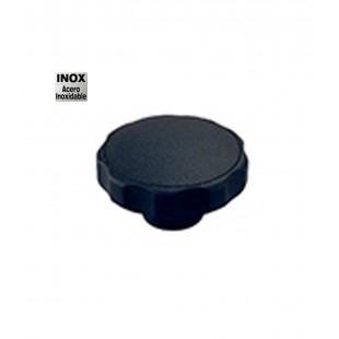 POMO C/CASQUILLO INOXIDABLE D-50 M-8 NEGRO (CXXV)